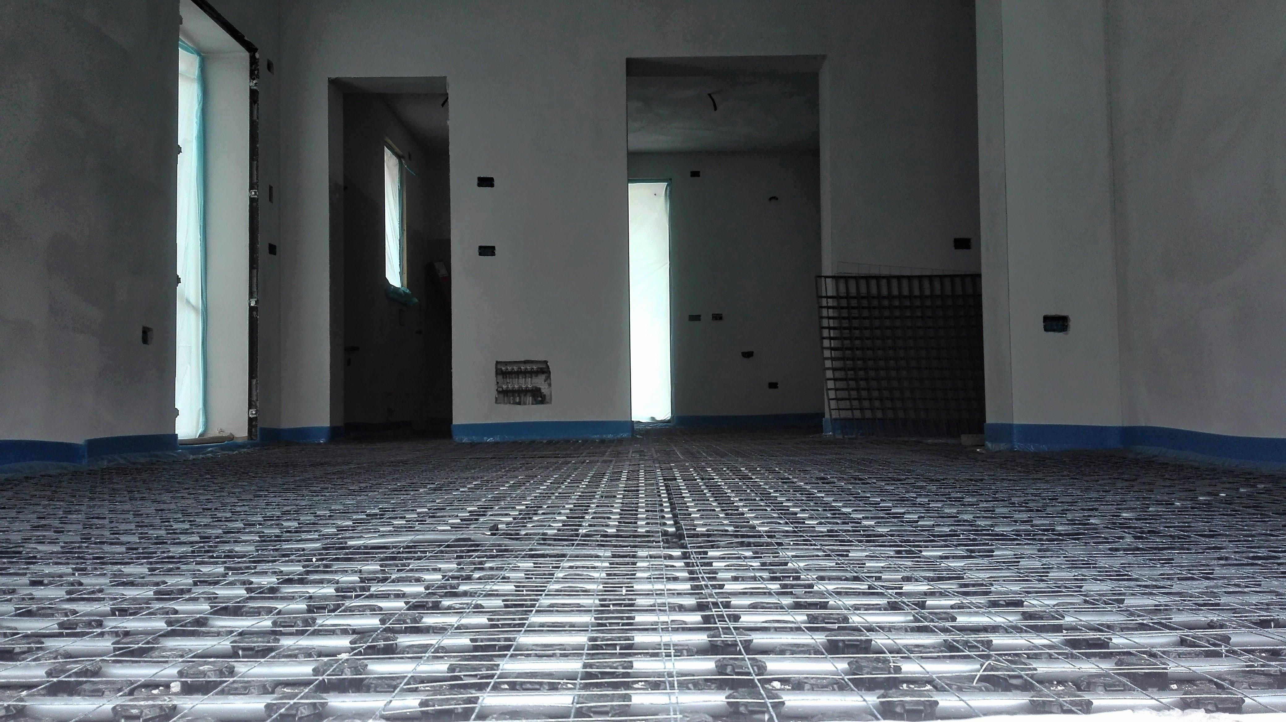 Ristrutturazione Riscaldamento A Pavimento impianto di riscaldamento radiante - edilceparano